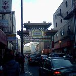 Friendship Gate in Chinatown