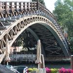 Dorsoduro side of Accademmia Bridge