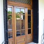 Sta. Margarita Doorway to balcony