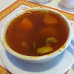 Hot and sour shrimp soup...very good