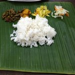 Delicious Banana leaf meal!!