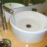Bathroom faucet on full