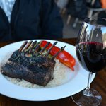 Rack of Lamb and Coppola Red Wine