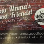 Your Mamas' Loyalty Card