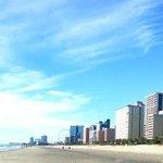 veiw from beach.
