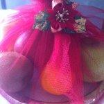 a nice welcoming fruit basket