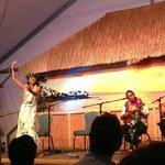 Ukelele Boys and hula