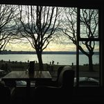 Afternoon coffee on English Bay at the Sylvia Hotel