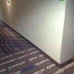 hallway very clean