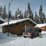 Our cabin at Manning Park Lodge