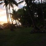 Sonnenuntergang mit der Bar