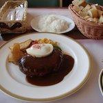 遅昼:サウスロードの神戸牛ハンバーグ