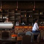 Bar at Petani restaurant