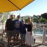 Meine Familie mit Jasmina