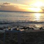spiaggia al tramonto con mojito!