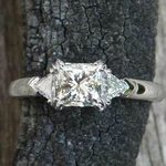 My engagement ring.
