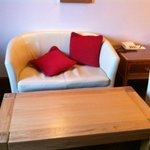 Tiny livingroom furniture - not comfortable at all!