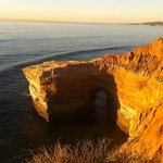arch at sunset cliff