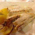 Corbina fish  al Horno