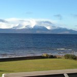 Arran seen from room