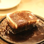 Chinese Room's sizzling brownie with vanilla ice-cream