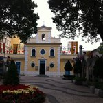 Coloane - the church