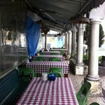 Coloane - eatery next to the church