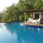 the pool is sparkling clean-it kind of invites u- jan 2013