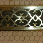 Brass air vent covers