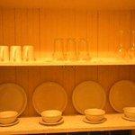 Kitchen cupboard (taken without flash)