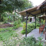 Il giardino ed i bungalow