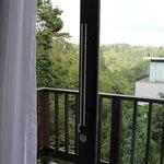 pemandangan dari balkon kamar