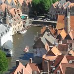 Bruges from the tower