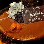 My chocolate traffle cake