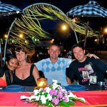 Dinner in the restaurant with Ida & Andrej