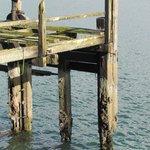 Titanic's original wharf....very close to hotel