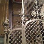 old cast iron lift