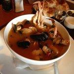 fish & seafood soup - bouillabaisse