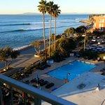 Crowne Plaza Ventura Beach room 504 7:40am Jan 21 2013
