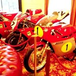 Bikes in the lobby
