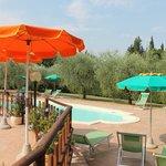 piscina e terrazza Saletta