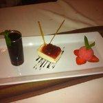 Wild strawberry dessert