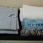 Room amenities (yukata/ towels)