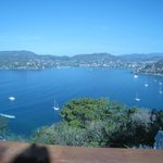 View of Zihuatanejo from our Suite