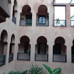 One of the casbah courtyards.