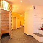 wellness area with saunas