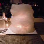 Cotton candy cloud at Red Salt for our 9th anniverary!