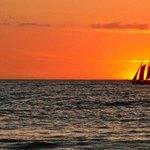 Beautiful Sunset at Playa Grande