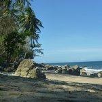 Der kleinere Strand
