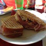 The Blvd Pimento Cheese sandwich